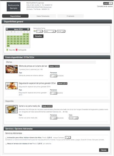 Sistema Para La Gestion De Las Reservas De Restaurantes