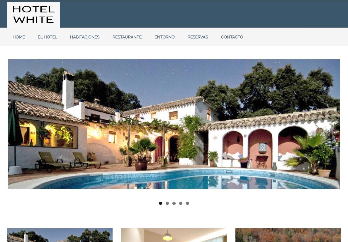 P gina web para hoteles y casas rurales - Paginas de casas rurales ...